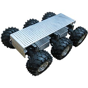 All-wheel all-terrain robotic platform KL! AREXX JSR-6WD