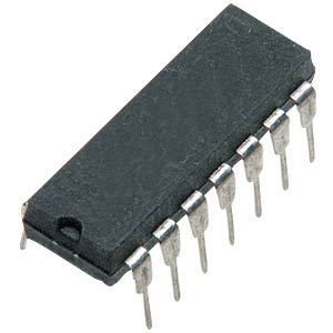 Operationsverstärker, Quad, 1 MHz, DIL-14 TEXAS INSTRUMENTS LM324AN/NOPB