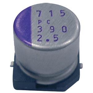 Polymer-Elko 39 uF 16 VDC PANASONIC 16SVPC39M