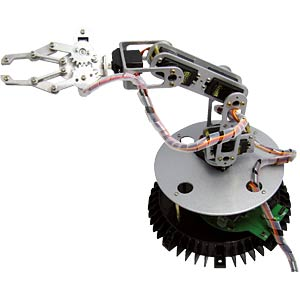 Metal robotic arm kit AREXX RA1-PRO