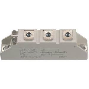 Thyristor-Mod. SEMIPACK 2 1400 V SEMIKRON SKKT162/14E