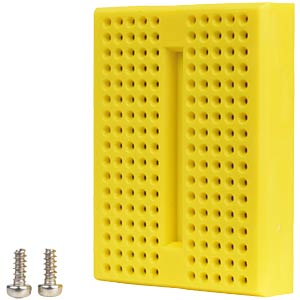 Breadboard, 170 contacts, yellow FREI