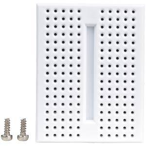 Experimentier-Steckboard, 170 Kontakte, weiss FREI