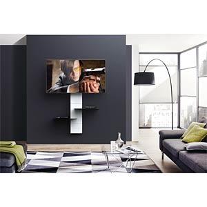 Kabelabdeckungssystem mit Glasplatte, weiß MELICONI 480522