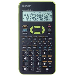 Scientific school calculator SHARP EL-531XHGR