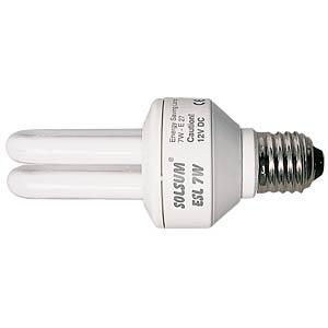 Energiesparlampe für Solaranwendungen, 7W STECA ESL 7W