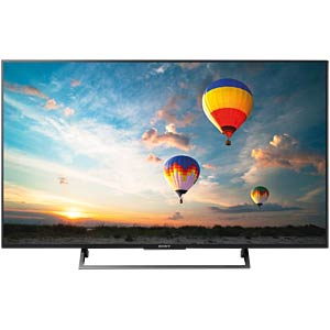 Fernseher, 123cm/49, UHD-TV, HDR, Android TV, EEK A SONY KD49XE8005BAEP