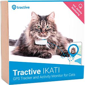 TRACTIVE TRKAT1 - GPS Tracker für Katzen / Tractive cat set