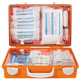 Erste Hilfe-Koffer SN-CD, Füllung DIN 13157, orange SÖHNGEN 3001138