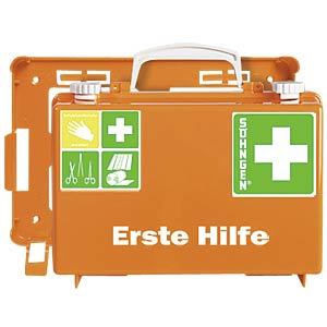Erste Hilfe-Koffer QUICK-CD, Füllung DIN 13157, orange SÖHNGEN 3001125