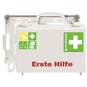 Erste Hilfe-Koffer QUICK-CD, Füllung DIN 13157, weiß SÖHNGEN 3001126