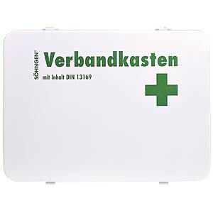 Verbandkasten OSLO mit Füllung DIN 13169 SÖHNGEN 3003002