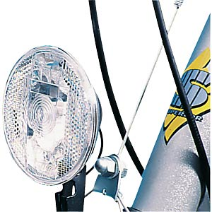 Bicycle halogen headlight, black FILMER 40005
