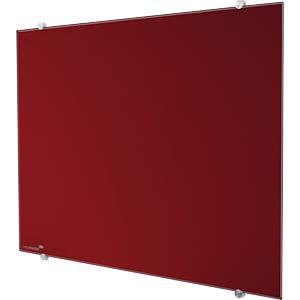 Glasschreibtafel, 40x 60 cm, rot LEGAMASTER 7-104735