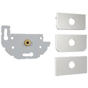 Konnect design click audio jack 3.5 mm soldered connection KINDERMANN 7456000411