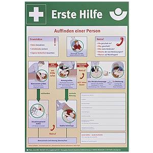 Anleitung Erste-Hilfe Plakatform Kunststoff SÖHNGEN 8001034