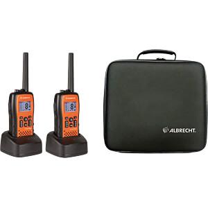 PMR Funkgeräte Set, IP54, schwarz ALBRECHT 29661