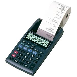 Printing desktop calculator CASIO P HR-8TEC CASIO HR-8TEC
