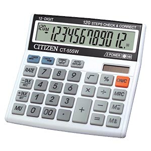 Calculator CITIZEN SYSTEMS CT-555W