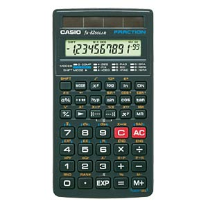 Standard calculator CASIO FX82SOLAR
