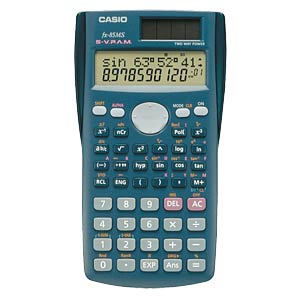 Scientific school calculator CASIO FX85MS