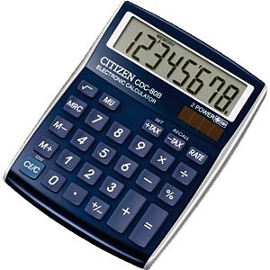Calculator CITIZEN SYSTEMS CDC-80 BL