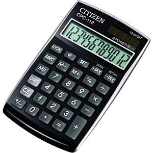 Calculator CITIZEN SYSTEMS CPC-112 BK