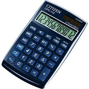 Taschenrechner, blau CITIZEN SYSTEMS CPC-112 BL