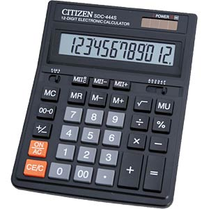 Calculator CITIZEN SYSTEMS SDC-444 S