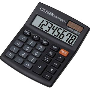 Calculator CITIZEN SYSTEMS SDC-805BN