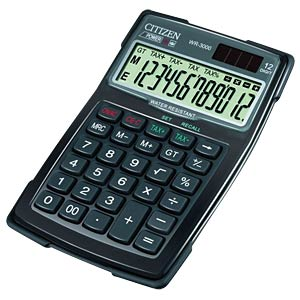 Calculator CITIZEN SYSTEMS WR-3000