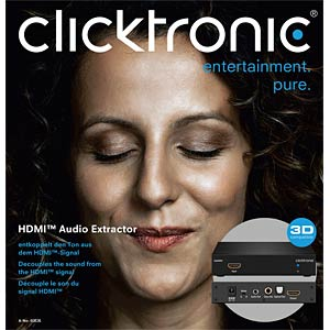 HDMI extractor CLICKTRONIC 60836
