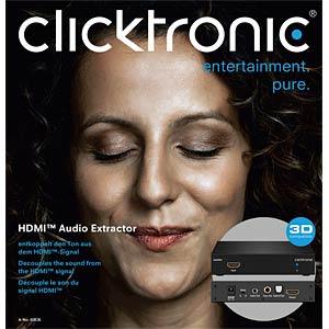 HDMI-Extraktor CLICKTRONIC 60836