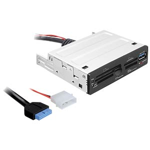 "USB 3.0 Card Reader 8,89cm (3,5"") 65 in 1 DELOCK 91725"