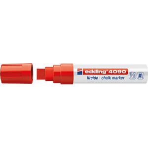 Kreidemarker, 4-15 mm, rot EDDING 4-4090002