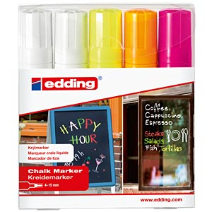 Chalk marker set EDDING 4-4090-5999