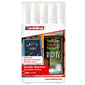 White chalk marker EDDING 4-4095-5049