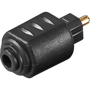 Toslink Adapter, Toslink Stecker auf Toslink Mini Kupplung FREI