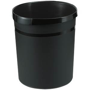Papierkorb 18 Liter, schwarz HAN 18190-13