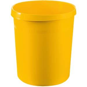 Papierkorb 18 Liter, gelb HAN 18190-15
