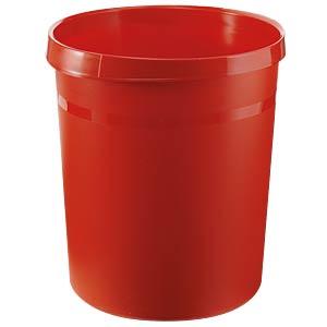 Papierkorb 18 Liter, rot HAN 18190-17