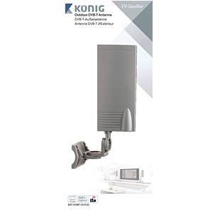 DVB-T Antenne 15dB KÖNIG KNT-DVBT-OUT20