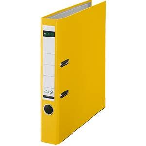 Qualitäts Ordner PP 180° A4, 50 mm, gelb LEITZ 10155015