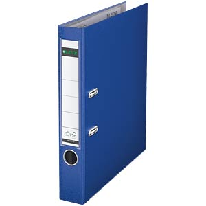 Qualitäts Ordner PP 180° A4, 50 mm, blau LEITZ 10155068