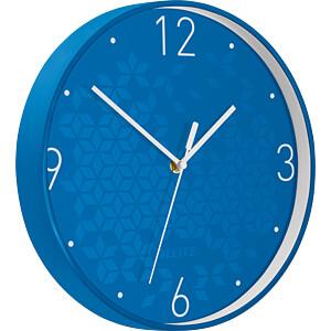 LEITZ 90150036 - Wanduhr WOW blau