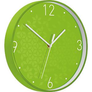 LEITZ 90150054 - Wanduhr WOW grün