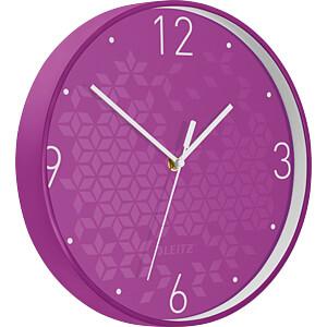 LEITZ 90150062 - Wanduhr WOW violett