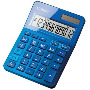 Lifestyle mini desktop calculator, metallic blue CANON 9490B001AA