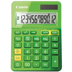 Lifestyle mini desktop calculator, metallic green CANON 9490B002AA