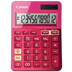 Lifestyle mini desktop calculator, metallic pink CANON 9490B003AA